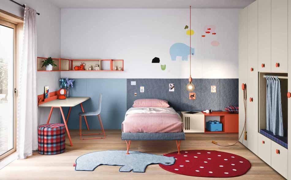 Battistella Camerette – 02 Kids Letti a Terra – Arredamenti ExpoWeb