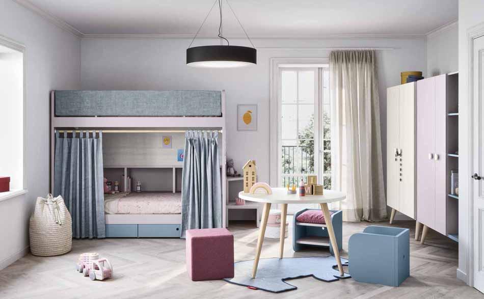 Battistella Camerette – 04 Kids Letti Castello – Arredamenti ExpoWeb