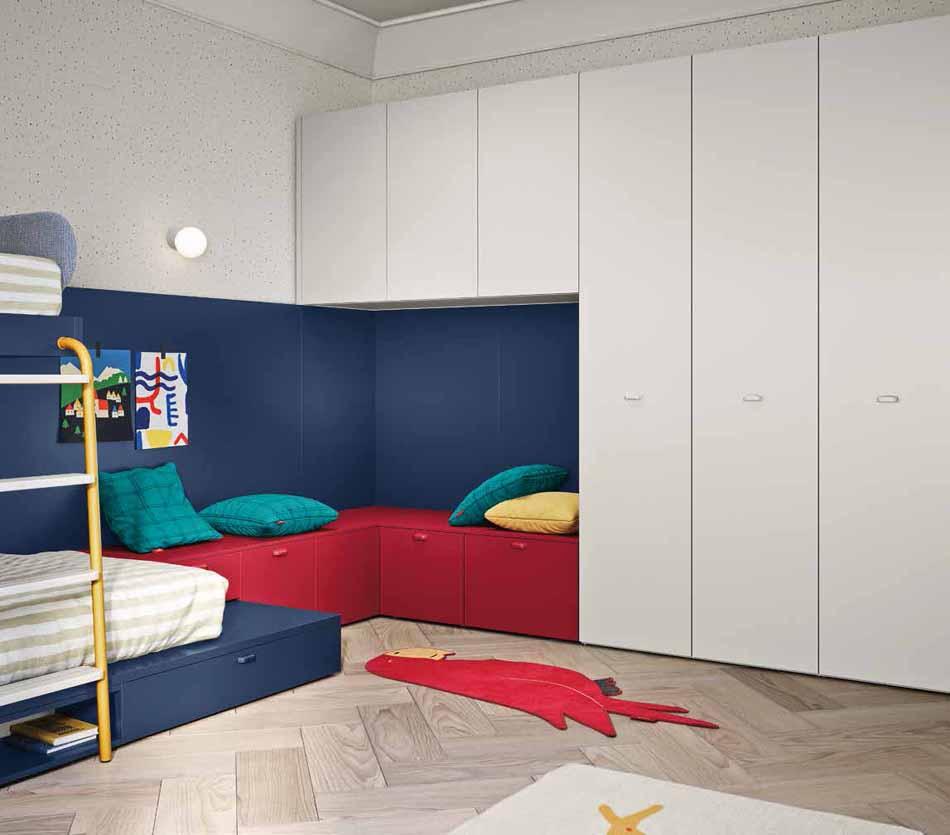 Battistella Camerette – 05 Kids Soppalco – Arredamenti ExpoWeb