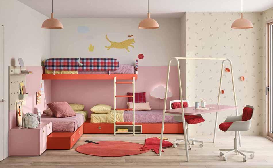 Battistella Camerette – 06 Kids Soppalco – Arredamenti ExpoWeb