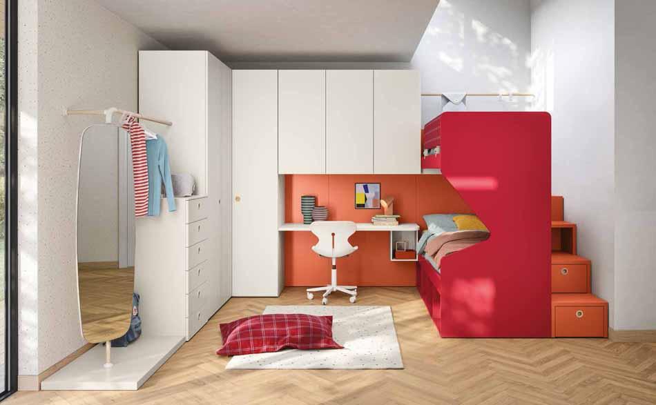 Battistella Camerette – 07 Kids Letti Castello – Arredamenti ExpoWeb
