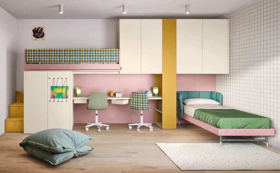 Battistella Camerette – 11 Kids Soppalco – Arredamenti ExpoWeb
