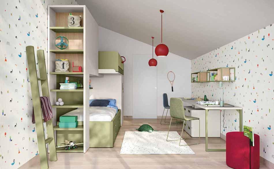 Battistella Camerette – 13 Kids Soppalco – Arredamenti ExpoWeb