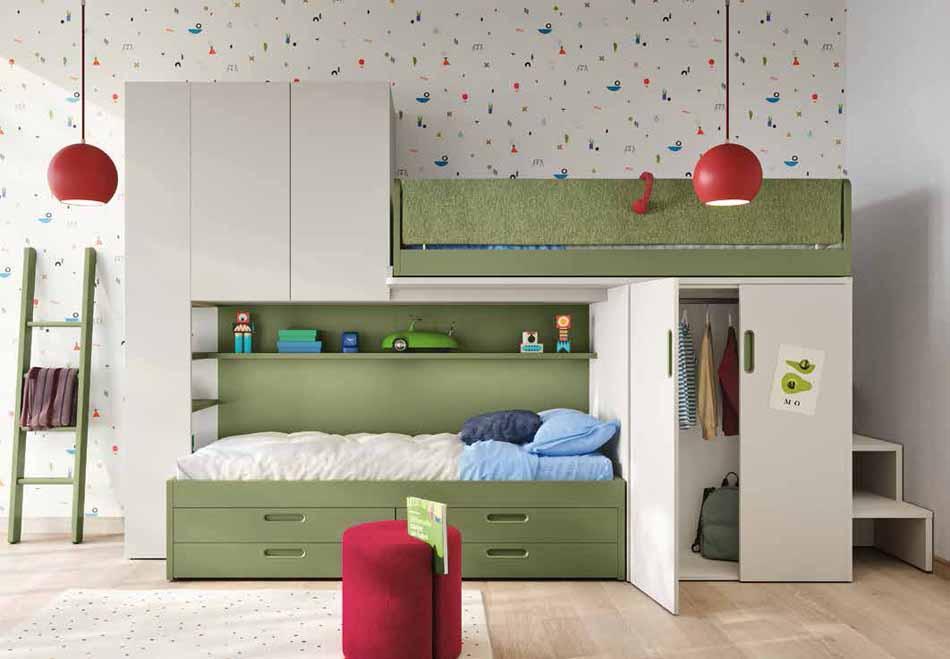 Battistella Camerette – 14 Kids Soppalco – Arredamenti ExpoWeb