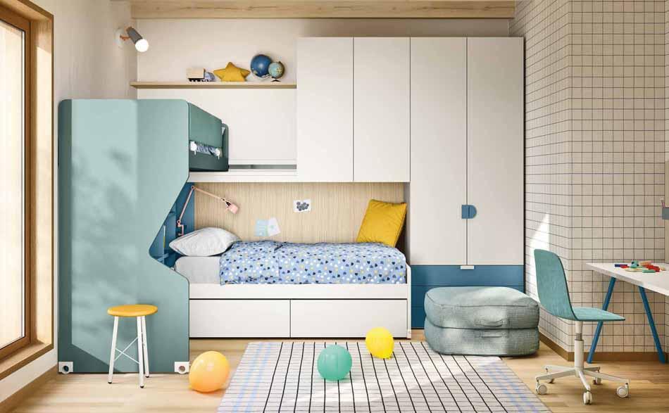 Battistella Camerette – 15 Kids Soppalco – Arredamenti ExpoWeb