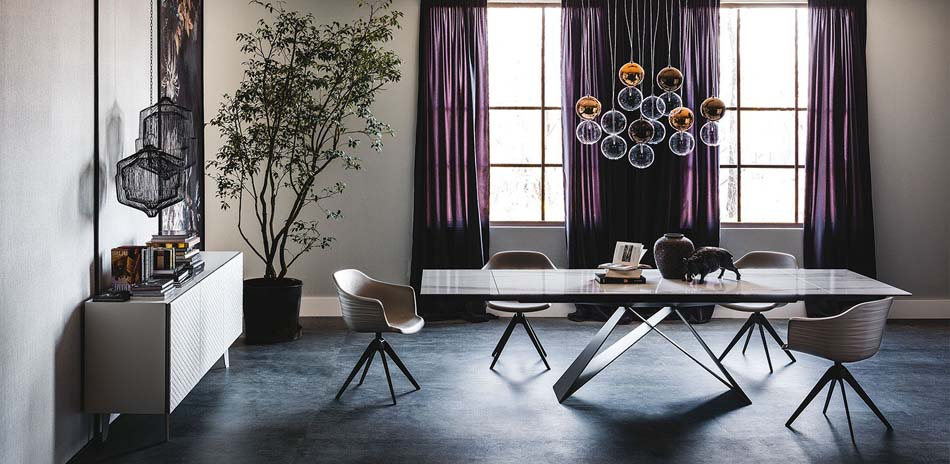 Cattelan ItaliaTavoli Allungabili Premier Keramik Drive – Arredamenti ExpoWeb