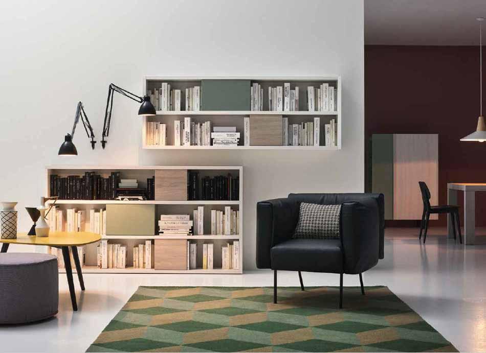 Cinquanta3 – 10 Zona Giorno Librerie – Arredamenti ExpoWeb