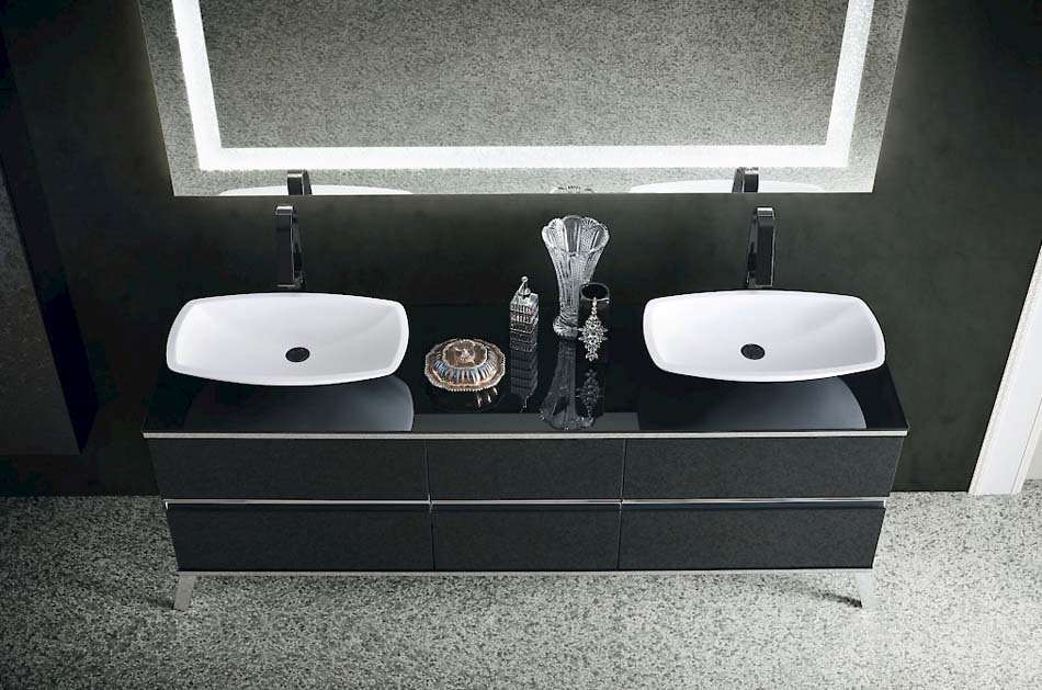 Compab Arredo Bagno Jacana Luxury 2 Lavandini – Arredamenti ExpoWeb News – 104