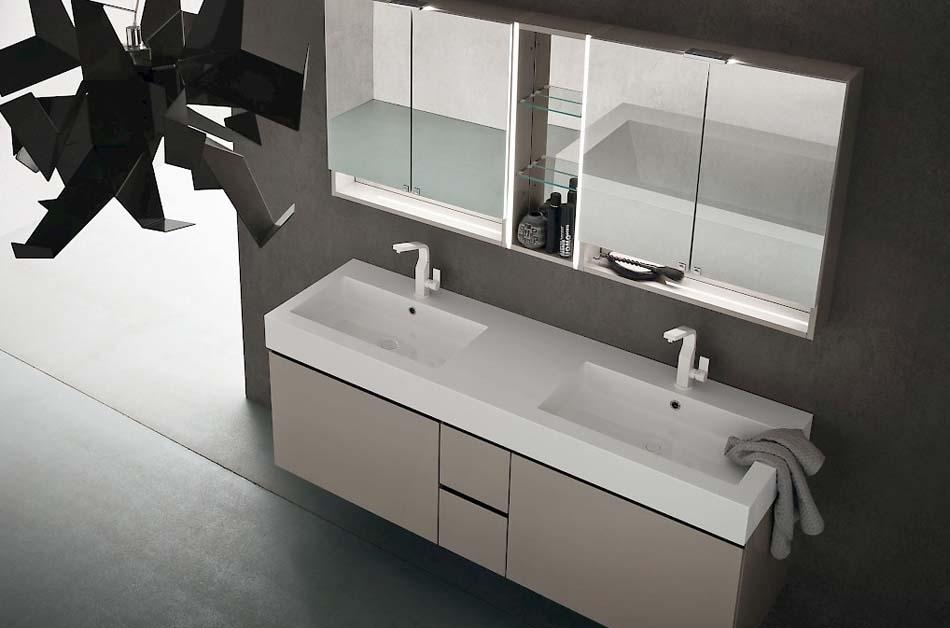 Compab Arredo Bagno Jacana Luxury 2 Lavandini – Arredamenti ExpoWeb News – 106