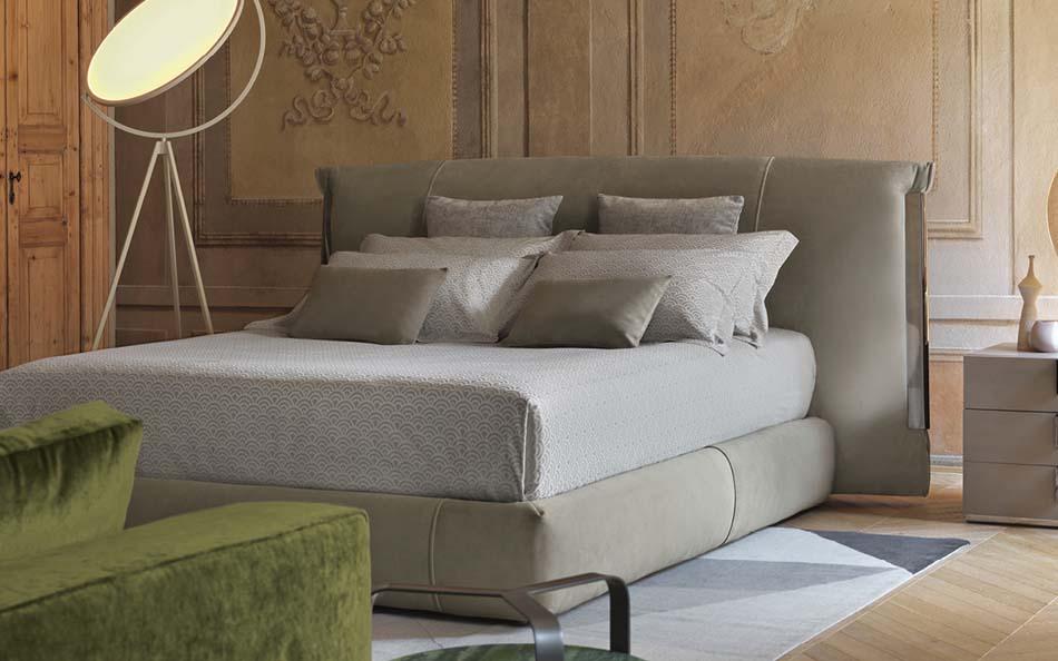 Flou Letti design moderni Amal 1 – Arredamenti ExpoWeb