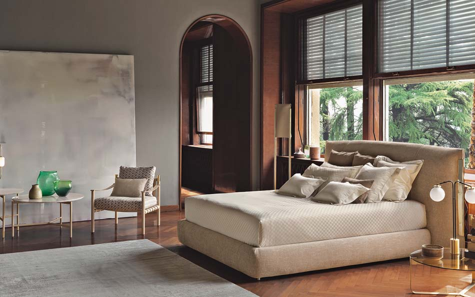 Flou Letti design moderni Amal 2 – Arredamenti ExpoWeb