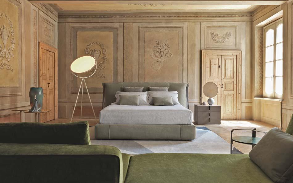 Flou Letti design moderni Amal – Arredamenti ExpoWeb