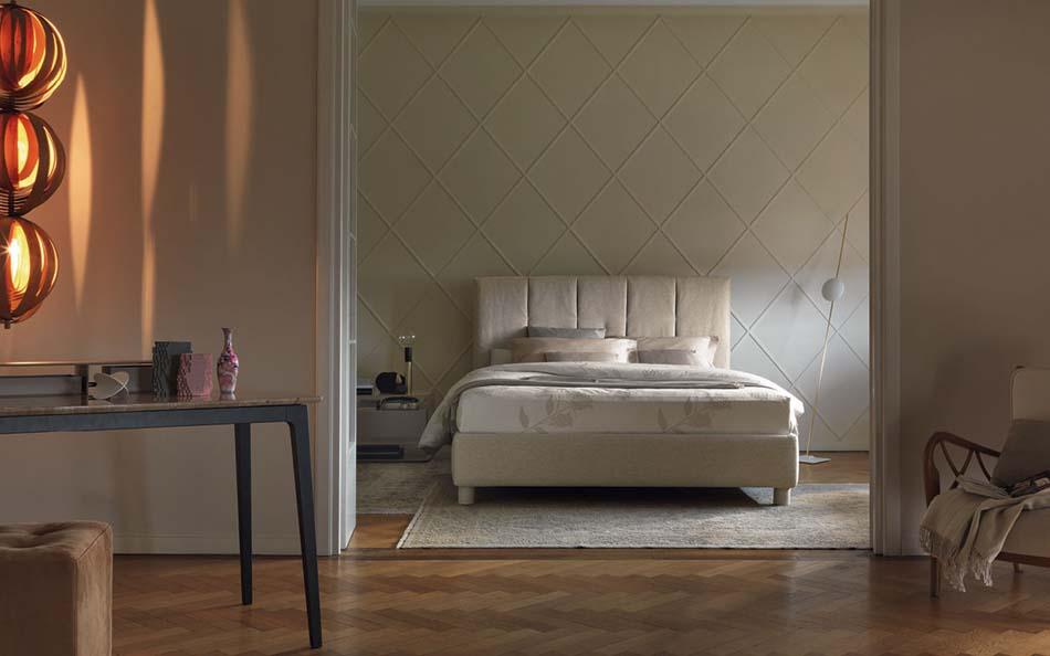 Flou Letti design moderni Argan – Arredamenti ExpoWeb