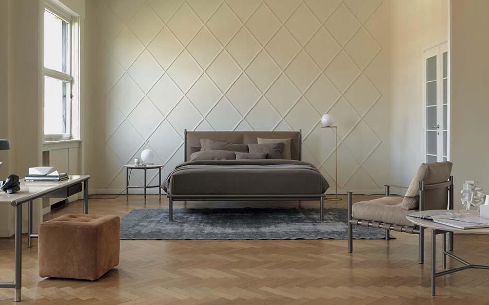 Flou Letti design moderni Iko – Arredamenti ExpoWeb