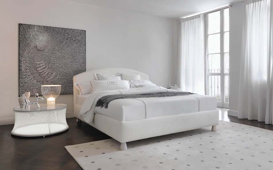 Flou Letti design moderni Magnolia – Arredamenti ExpoWeb