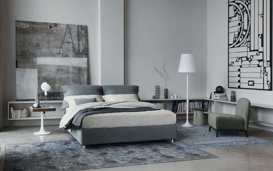 Flou Letti design moderni Nathalie 2 – Arredamenti ExpoWeb