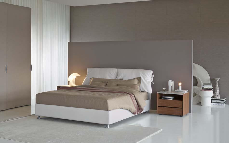 Flou Letti design moderni Nathalie 3 – Arredamenti ExpoWeb