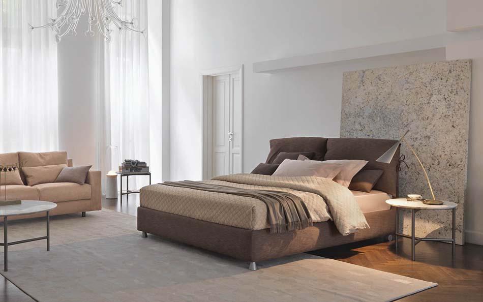 Flou Letti design moderni Nathalie – Arredamenti ExpoWeb