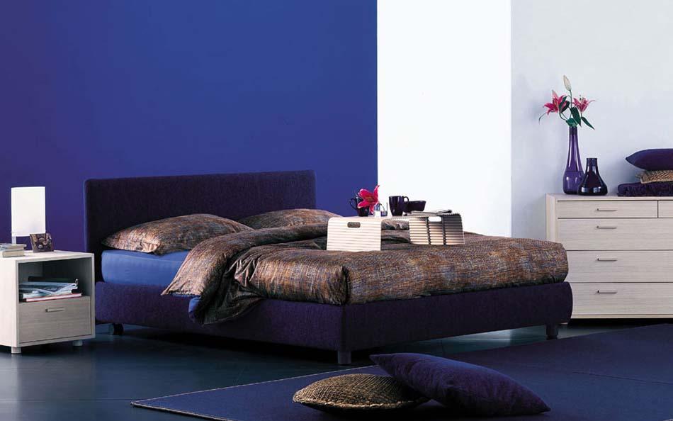 Flou Letti design moderni Notturno 1 – Arredamenti ExpoWeb