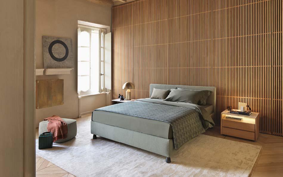 Flou Letti design moderni Notturno 2 – Arredamenti ExpoWeb