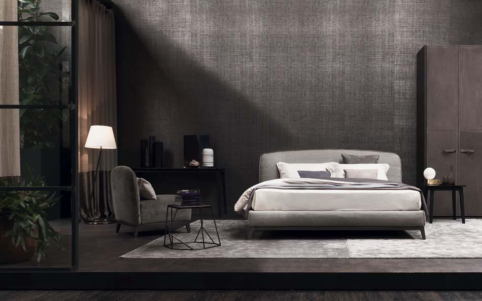Flou Letti design moderni Olivier 1- Arredamenti ExpoWeb