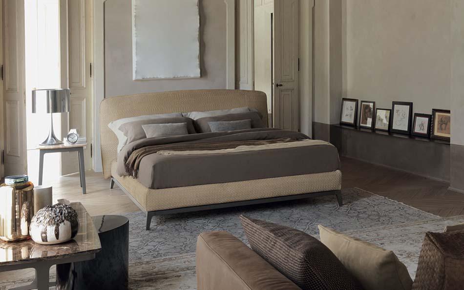 Flou Letti design moderni Olivier 2- Arredamenti ExpoWeb