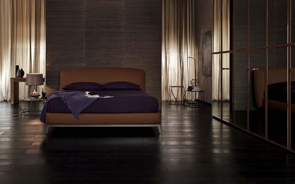 Flou Letti design moderni Olivier 3- Arredamenti ExpoWeb