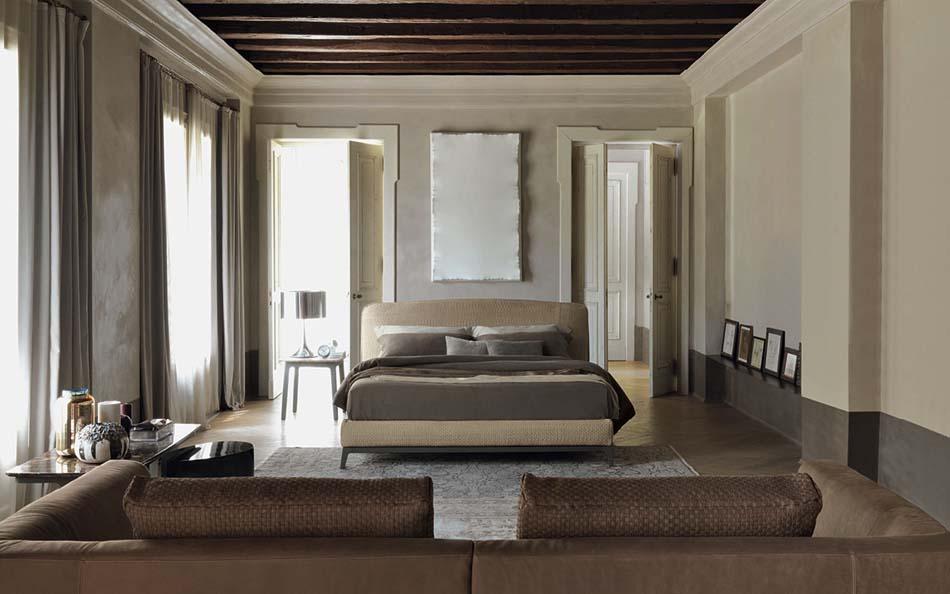 Flou Letti design moderni Olivier – Arredamenti ExpoWeb