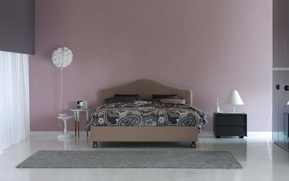Flou Letti design moderni Peonia – Arredamenti ExpoWeb