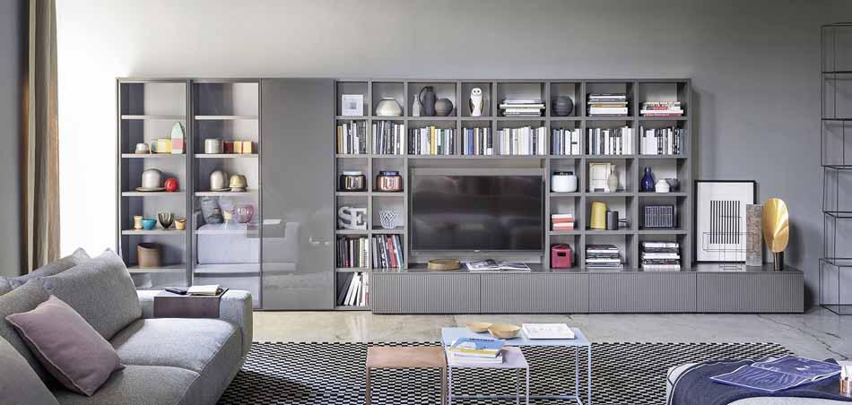 Novamobili 01 Living Libreria – Arredamenti ExpoWeb