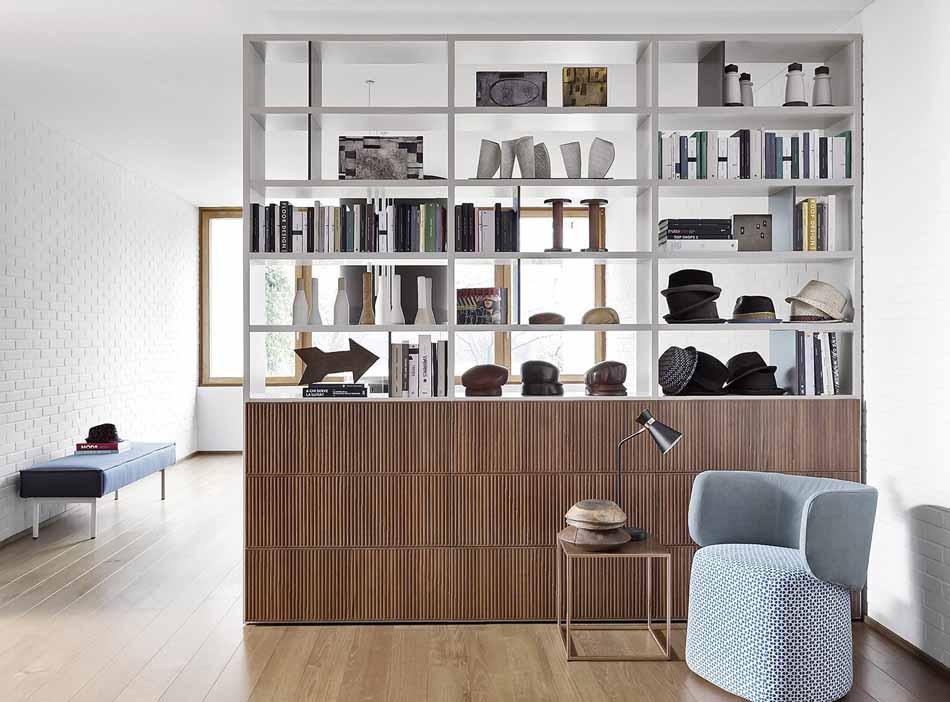 Novamobili 03 Living Libreria – Arredamenti ExpoWeb