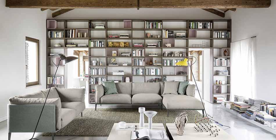Novamobili 05 Living Libreria – Arredamenti ExpoWeb