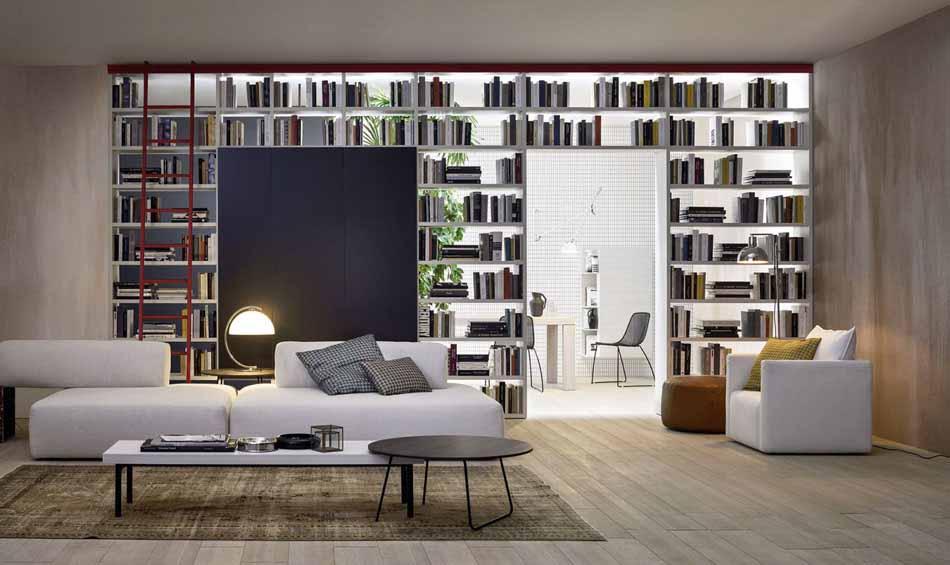 Novamobili 07 Living Libreria – Arredamenti ExpoWeb