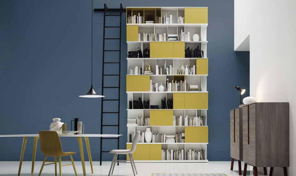 Novamobili 08 Living Libreria – Arredamenti ExpoWeb