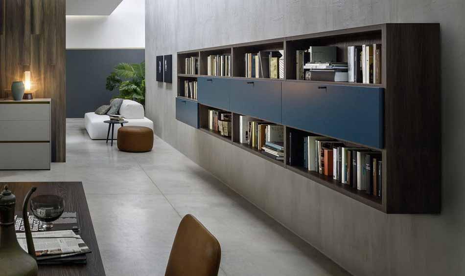 Novamobili 10 Living Libreria – Arredamenti ExpoWeb