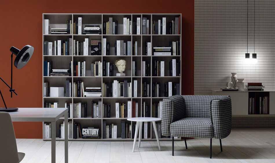 Novamobili 11 Living Libreria – Arredamenti ExpoWeb