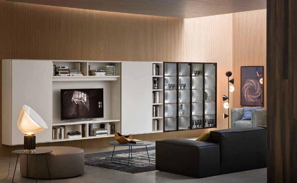 Novamobili 12 Living Libreria – Arredamenti ExpoWeb