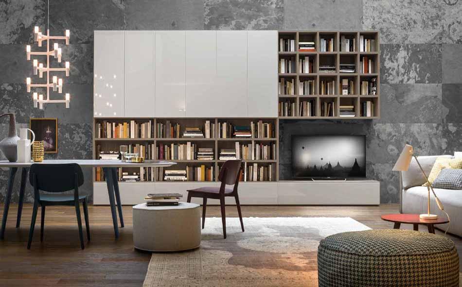 Novamobili 13 Living Libreria – Arredamenti ExpoWeb