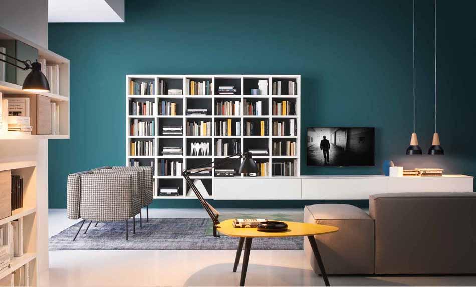 Novamobili 14 Living Libreria – Arredamenti ExpoWeb