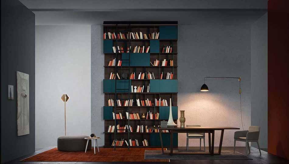 Novamobili 15 Living Libreria – Arredamenti ExpoWeb
