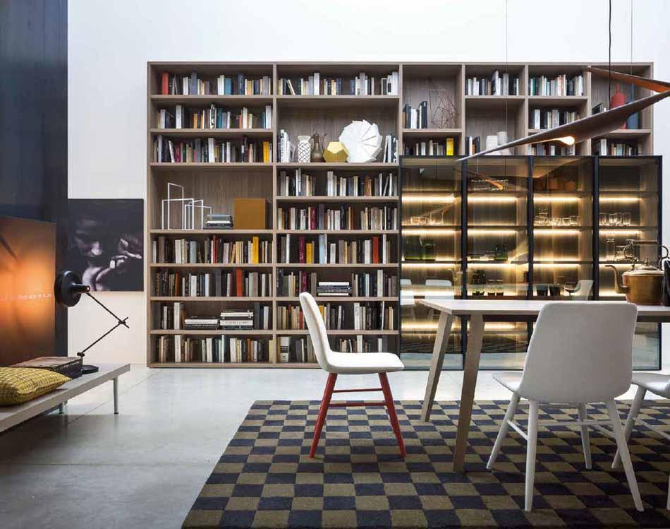 Novamobili 16 Living Libreria – Arredamenti ExpoWeb