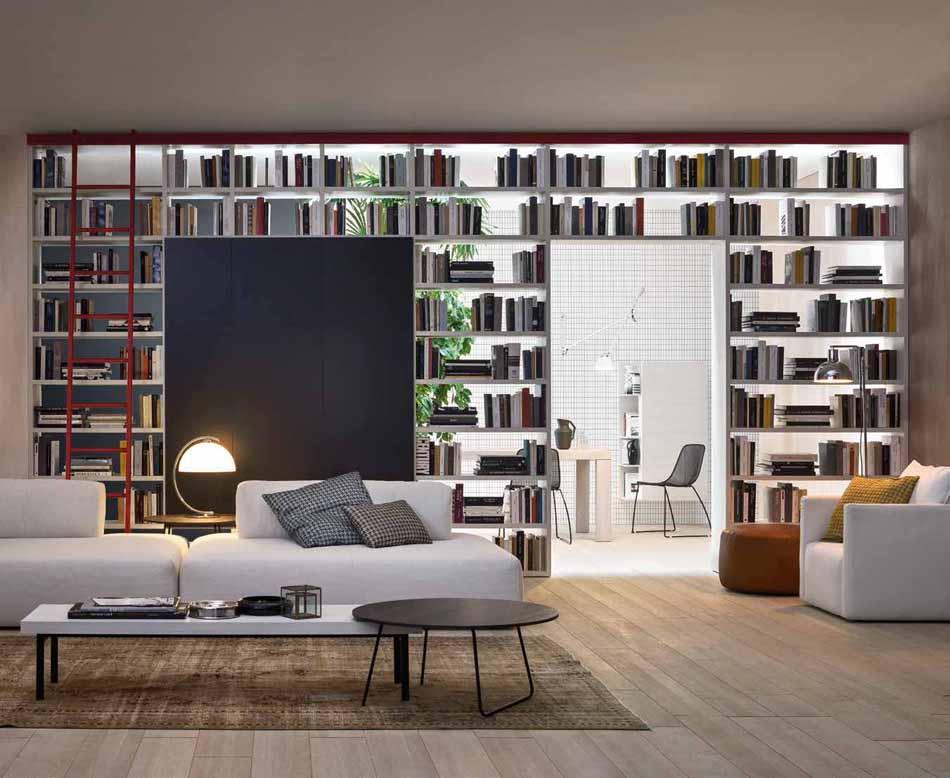 Novamobili 18 Living Libreria – Arredamenti ExpoWeb