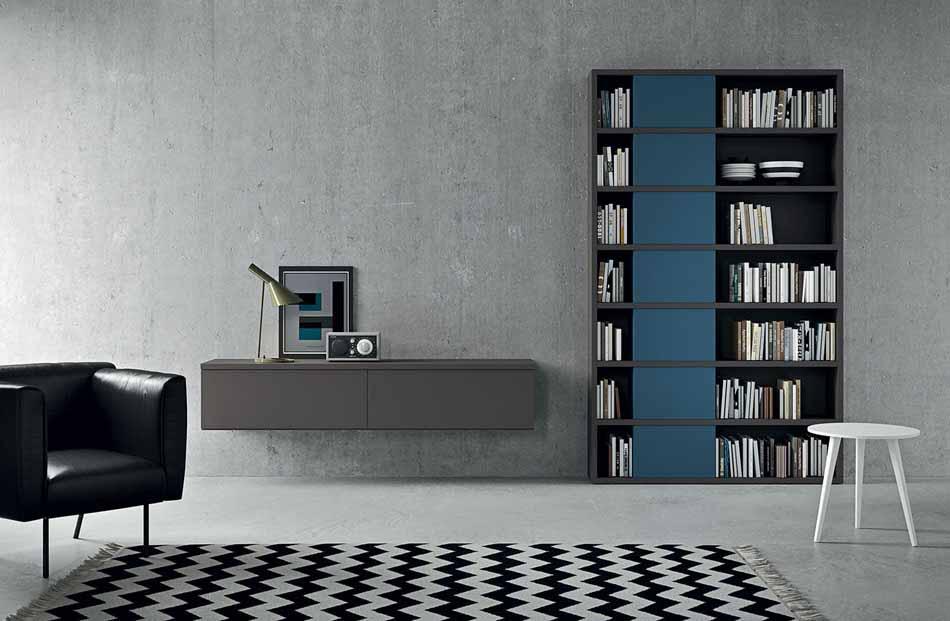 Novamobili 19 Living Libreria – Arredamenti ExpoWeb
