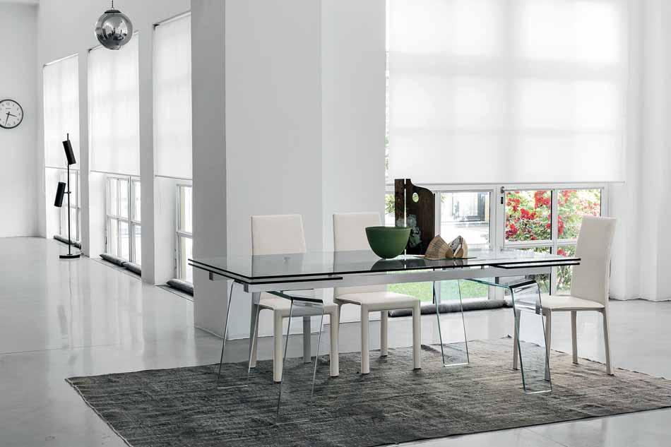 Target Poin 01 Tavoli Cristal -Arredamenti ExpoWeb